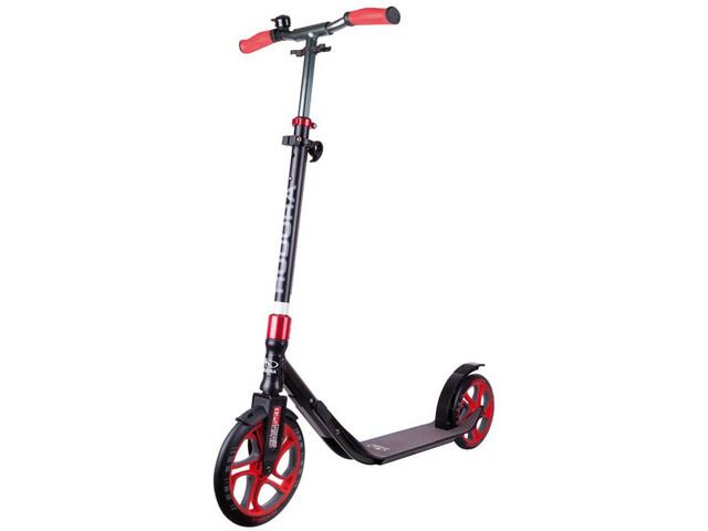 HUDORA CLVR City Scooter Kinder schwarz/rot
